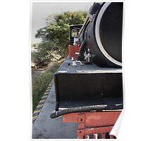 Old Locomotive Half Poster