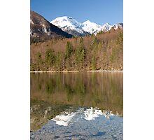 Bohinj Lake, Slovenia Photographic Print