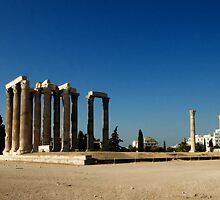 Zeus Temple Athens by Michael Jordan
