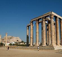Temple of Zeus Athens by Michael Jordan