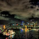City Lights - Moods Of A City - The HDR Experience by Philip Johnson