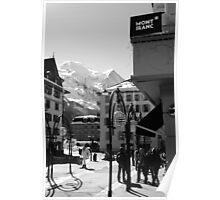 Mont Blanc Street Poster