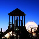 Playground at Night by Tim Wright