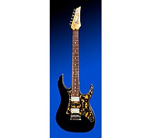 Black Ibanez RT 450 Guitar Photographic Print