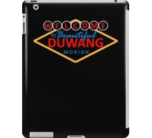 Welcome to Beautiful Duwang iPad Case/Skin