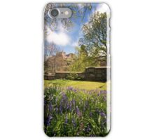 LE: Edinburgh Castle from St John's Church Gardens iPhone Case/Skin