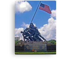 *U.S.M.C. War Memorial* Canvas Print