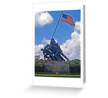 *U.S.M.C. War Memorial* Greeting Card