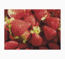 Strawberries sweet, rich and juicy. Kids Clothes