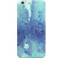 Watercolour Blues iPhone Case/Skin