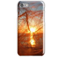 Sunset In My Hair | Pond Point, New York  iPhone Case/Skin