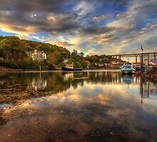 North Queensferry Sunset by Miles Gray