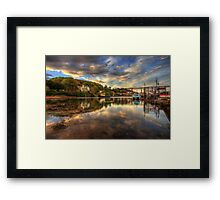 North Queensferry Sunset Framed Print