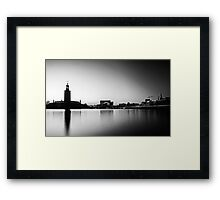 City Hall Stockholm Framed Print