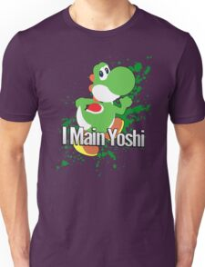 I Main Yoshi - Super Smash Bros. Unisex T-Shirt