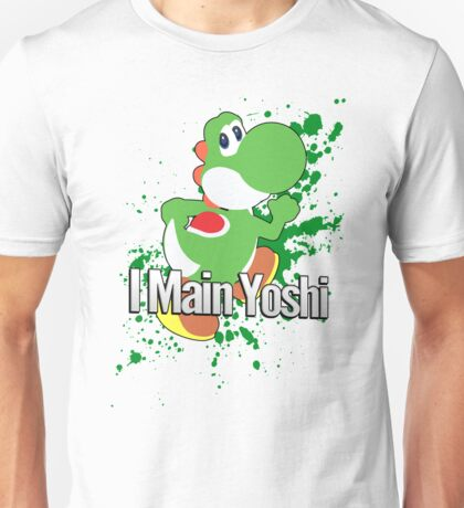 I Main Yoshi - Super Smash Bros. Unisex T-Shirt