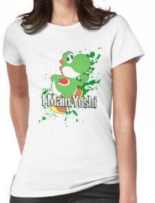 I Main Yoshi - Super Smash Bros. Womens Fitted T-Shirt
