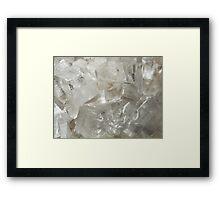 The Hidden Land - Glaciers Framed Print