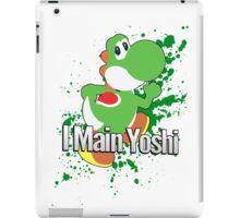 I Main Yoshi - Super Smash Bros. iPad Case/Skin