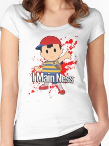 I Main Ness - Super Smash Bros. Women's Fitted Scoop T-Shirt