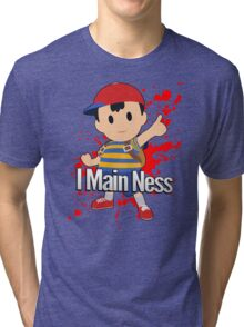I Main Ness - Super Smash Bros. Tri-blend T-Shirt