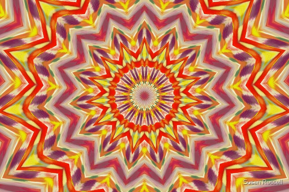 Kodachrome Chrysanthemum by Susan Russell