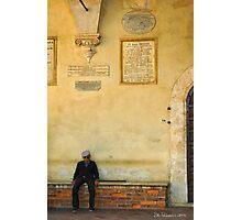 Pienza, Italy Photographic Print