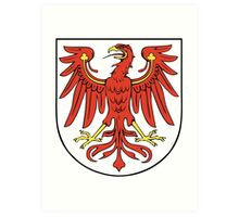 Brandenburg coat of arms Art Print
