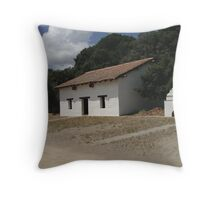 Lone Mission House Throw Pillow