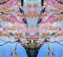 Cherry Blossom Tree of Life  Sticker