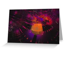 Incandescent Planes Greeting Card