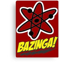 Bazinga Theory! Canvas Print