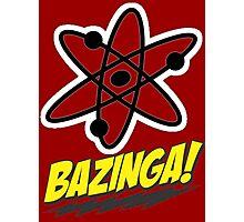 Bazinga Theory! Photographic Print