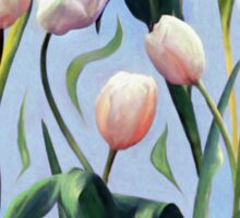 Waiting on the Blooming - a Tulip Pattern Sticker