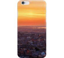 Panoramic View of the Edinburgh Skyline iPhone Case/Skin