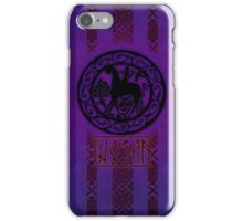 Wotan (purpleburst) iPhone Case/Skin