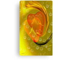 If we hold on together-Abstract Art + Design products Canvas Print