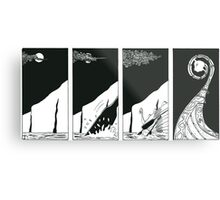 "Vikings   ""the ship"" Metal Print"