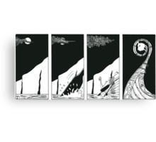 "Vikings   ""the ship"" Canvas Print"