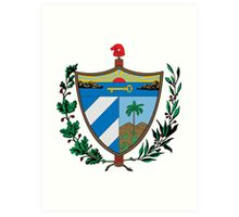 Cuban coat of arms Art Print