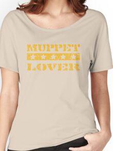 Muppet lover (orange) Women's Relaxed Fit T-Shirt