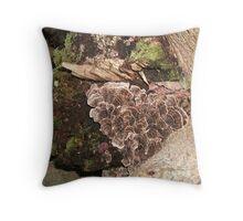 Fungi, Moss, Lichen OH MY!! Throw Pillow