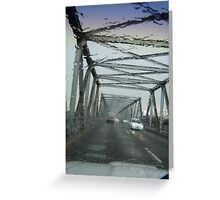 Wet & Wild Bridge Greeting Card