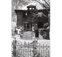 Broom Stick House Photographic Print