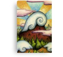 Snowcap Canvas Print