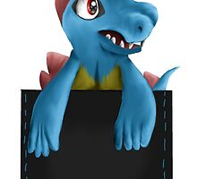 Pocket Totodile by BriannaP
