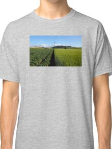 Half And Half Classic T-Shirt