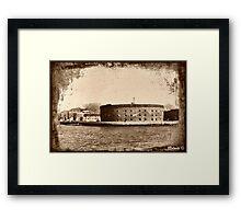 Castle Williams, NY  Framed Print