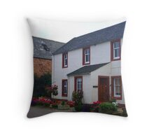 Cromarty Cottages Throw Pillow