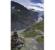 trift glacier Photographic Print